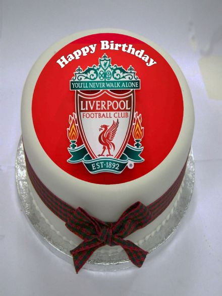 Liverpool Edible Cake Topper